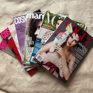 Magazine Bundle: VOGUE Cosmopolitan Marie Claire